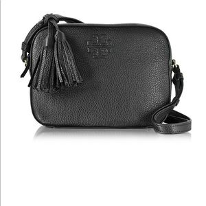 Tory Burch Thea pebbled leather shoulder bag